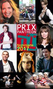 Die Nominierten 2017 sind: Bastian Bielendorfer, Tino Bomelino, Gabriele Busse, Lisa Eckhart, Katie Freudenschuss, Khalid, Quichotte + Flo, Starbugs Comedy, die Band Tonträger, sowie Nektarios Vlachopoulos