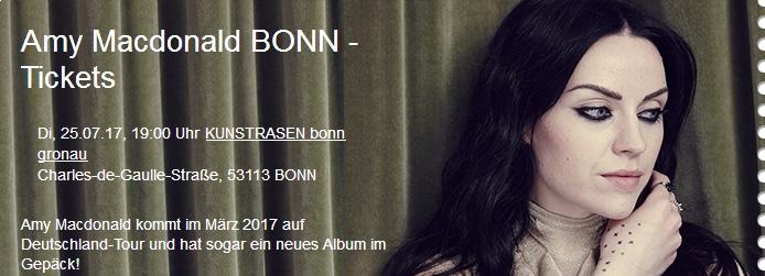 Amy Macdonald | Kunst!Rasen Bonn @ Kunst!Rasen Bonn | Bonn | Nordrhein-Westfalen | Deutschland