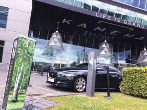 E-Tankstelle des Kameha Grand Hotels in Bonn