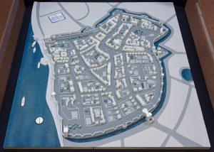 Modell im Stadtarchiv zeigt den Aufbau Bonns im 17. Jahrhundert