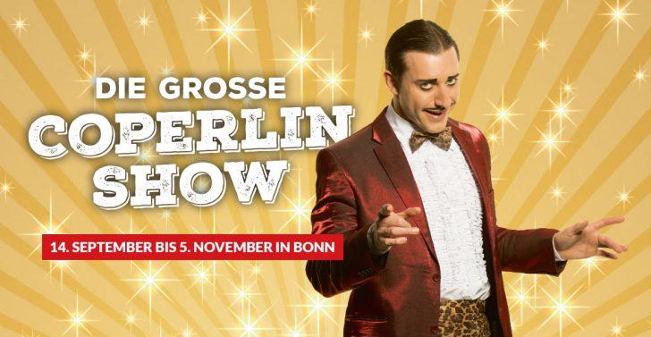 """Die große Coperlin Show"" im GOP Varieté-Theater Bonn"