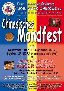 """Mondfest der """"Bönnsche Chinese"""" im Kaiser Garden"""
