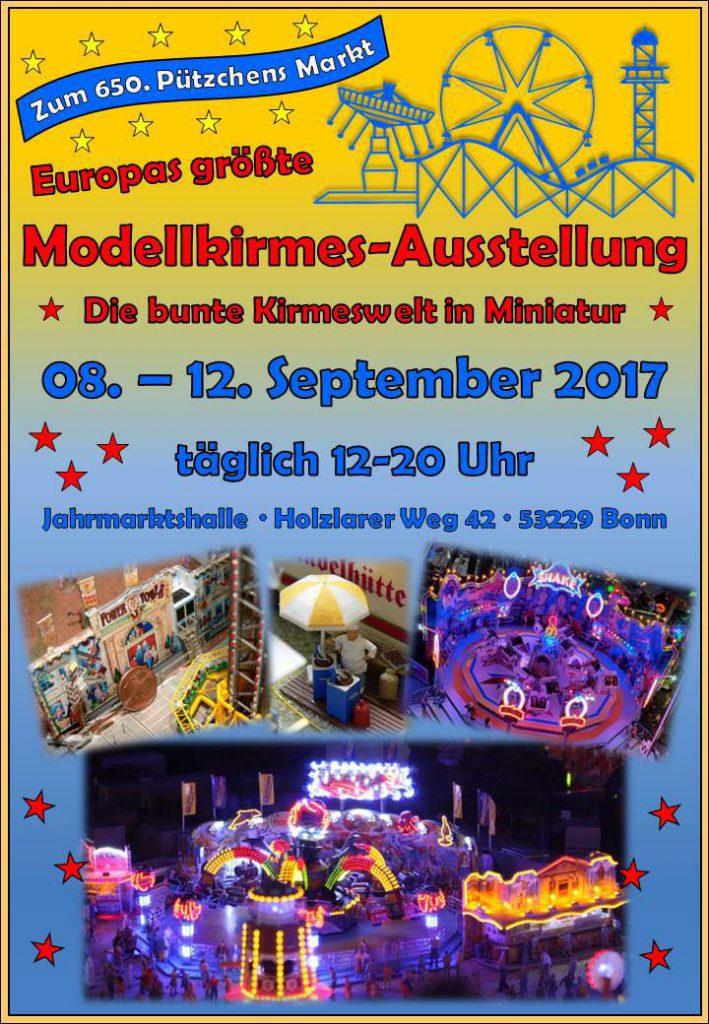 Modellkirmes Ausstellung zu Pützchens Markt @ Jahrmarktshalle | Bonn | Nordrhein-Westfalen | Deutschland