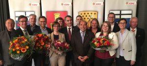 Der neugewählte Kreisvorstand der Bonner CDU