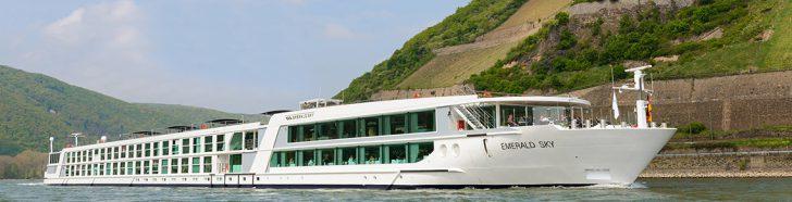 Hotelschiffe Emerald Star & Emerald Destiny in Bonn