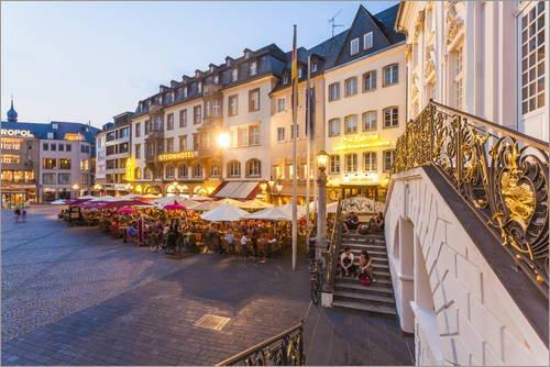 Marktplatz in Bonn von Dieterich Fotografie