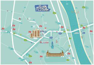 Bonn Festival Stadtplan – Wo ist was?