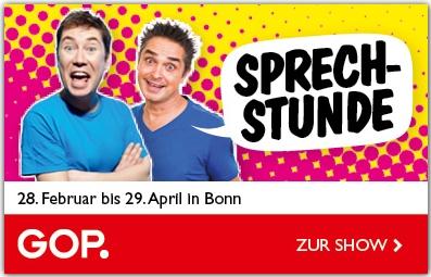 """""""Sprechstunde"""" – Garantiert rezeptfrei! im GOP Varieté-Theater Bonn"""