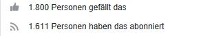 1.800 Facebook Fans von BonnNet.de!