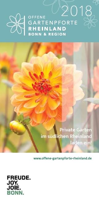 """Private Gärten im Rheinland öffnen ihre Pforten zu der Aktion """"Offene Gartenpforte"""" in Bonn"""